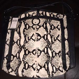 Bcbgmaxazria Amelie Black/White Handbag